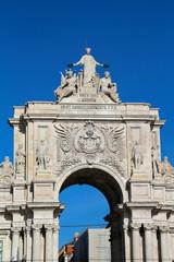 Arco da Rua Augusta in Lissabon