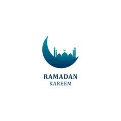 Ramadan Kareem Vector Template Design Illustration