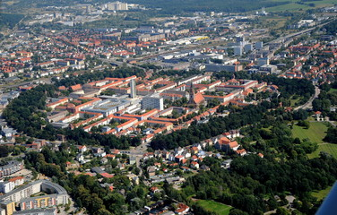 Neubrandenburg, Ring und südlicher Teil