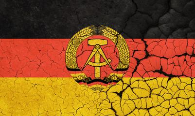 German Democratic Republic Crisis Wall mural