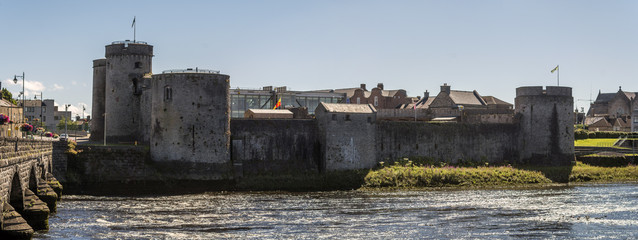 King Johns Castle, Limerick, Irland