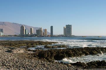 Vue de la ville d'Iquique