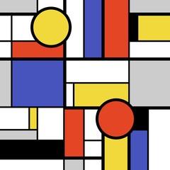 Geometric bold art