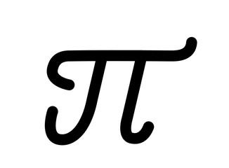 Mathematical pi symbol