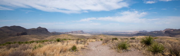 View from Sotol Vista, Big Bend National Park, Texas