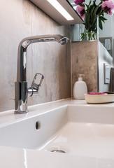 Modernes Badezimmer, Armatur