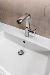 Modernes Badezimmer, Waschbecken