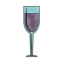 Wine cup isolated vector illustration graphic design