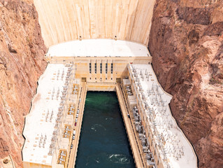 Foto op Canvas Dam Hoover dam USA