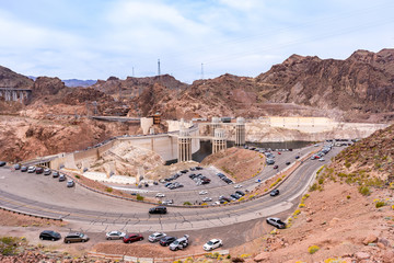 Photo sur Plexiglas Barrage Hoover dam USA