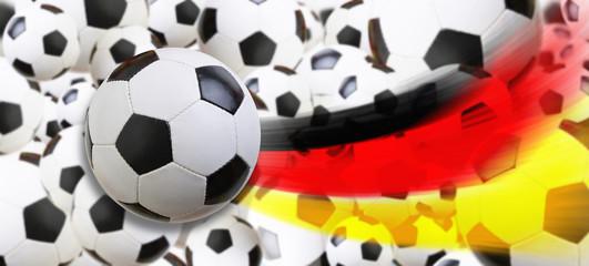 Fussball Sieg Deutschland