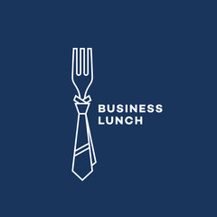Business lunch logo