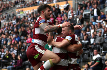 Super League - Hull FC vs Wigan Warriors