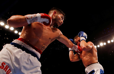 Kris George vs Josh Kelly - Commonwealth Welterweight Title