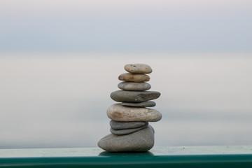 Photo sur Plexiglas Zen pierres a sable Yoga - Wellness