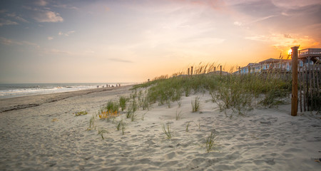 Morning on Ocean Isle Beach