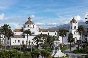 Cathédrale de Latacunga, Équateur