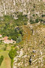 village et cirque de Navacelles