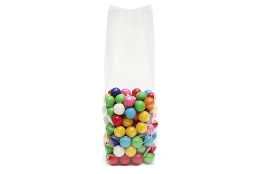 Cellophane bag for candy