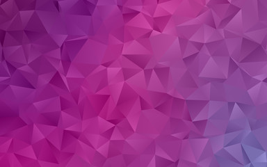 Light pink-purple abstract mosaic pattern. Vector illustration. A sample with polygonal gradient shapes.