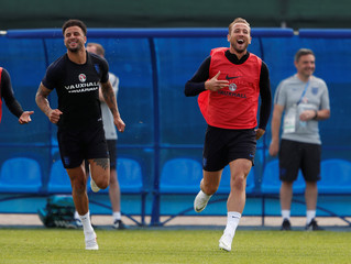World Cup - England Training