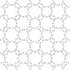 Geometric Arabic seamless pattern. Islamic texture. Muslim ornament background.