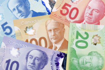 Canadian money, a background