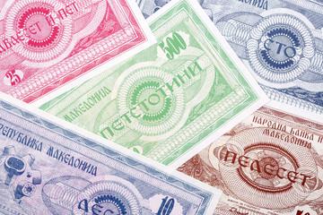 Macedonian money, a background