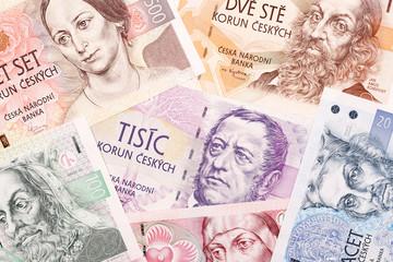 Czech money, a background