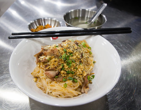 Shan noodle with soup