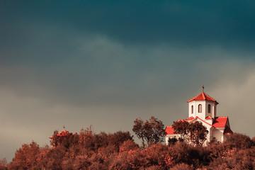 Little church on hill, Macedonia