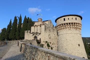 castle of Brescia, historic landmark in Italy
