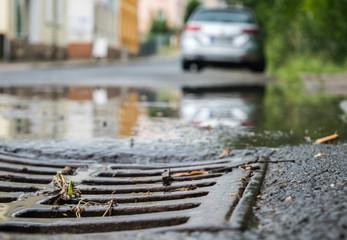 Überschwemmung und Starkregen in Deutschland