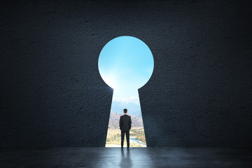 Dream, success, opportunity and future concept