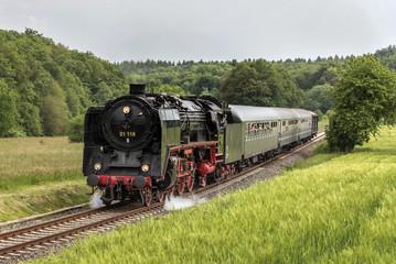 Zugfahrt mit der historischen Eisenbahn