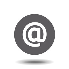 Mail Icon in trendy flat style isolated on grey background. Mail Icon page symbol for your web site design, logo, app, UI. Vector illustration, EPS10.