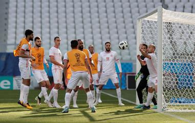 World Cup - Tunisia Training