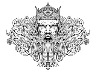 the harsh old king of the seas