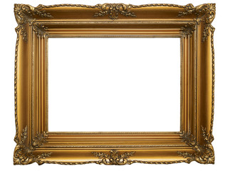 Old Brown Picture Frame