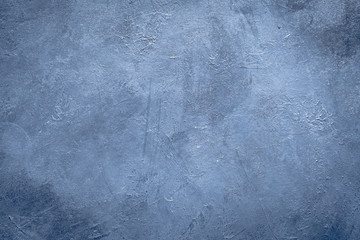 abstract art blue textured background design. distressed dark grey scratched rough backdrop. copy space concept