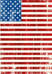 American vertical flag