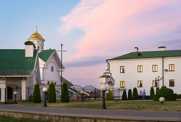 Orthodox Educational Complex and Theological Academy, historical center of Minsk City, Belarus