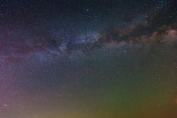 night sky background with milky way