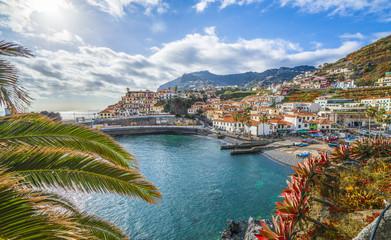 Wall Mural - Camara de Lobos, panoramic view, Madeira island, Portugal