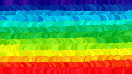 Rainbow Flag Vector Background