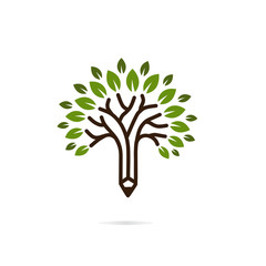 tree vector icon logo design elements
