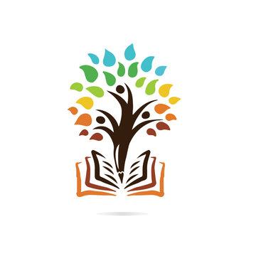 tree vector icon logo design elements