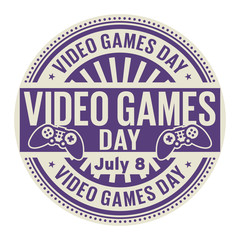 Video Games Day,  July 8