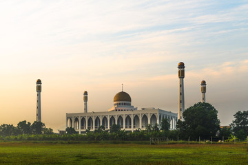Mosque in south of Thailand