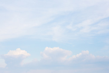 Abstract Sky with Cloud.